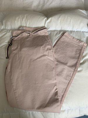 Amisu Pantalone chino rosa pallido