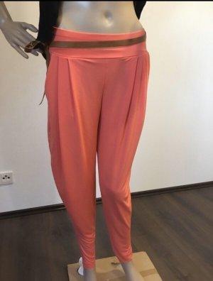 Pantalón estilo Harem rojo claro
