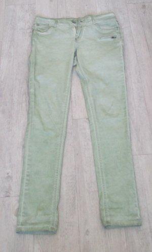 Garcia Jeans Pantalón de cinco bolsillos verde pálido-verde claro