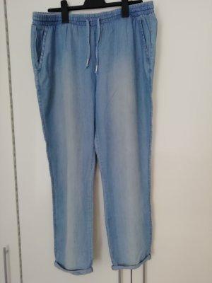 Multiblu Pantalon en jersey bleu azur