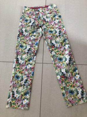 Alberto Pantalone cinque tasche multicolore