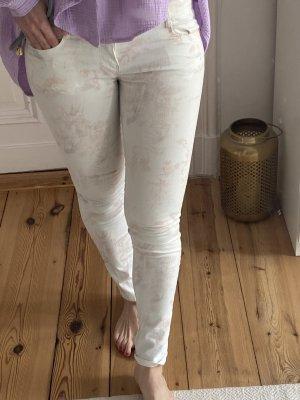Zara Trafaluc Low-Rise Trousers multicolored