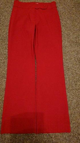 Pantalon Marlene rouge tissu mixte