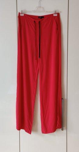 Mango Pantalon palazzo rouge clair
