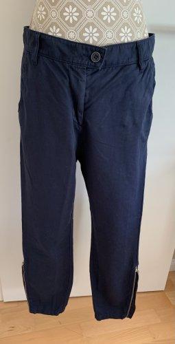 Marc O'Polo Pantalon 7/8 bleu foncé
