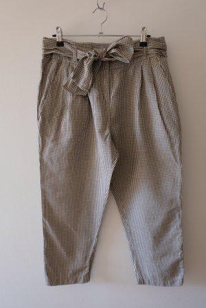 NIU' Pantalon 3/4 taupe-blanc