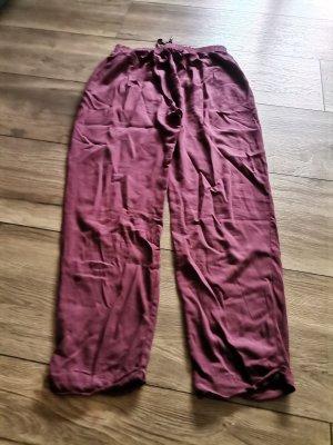 Colloseum Pantalone bloomers rosso scuro-rosso lampone