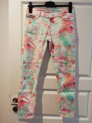 Review 7/8 Length Trousers multicolored