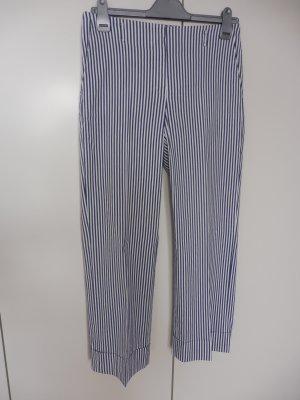 Orwell Pantalone jersey bianco-blu Cotone