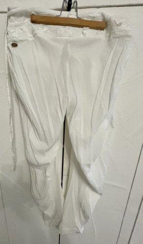 Hugo Boss Boyfriend Trousers white
