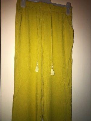 / Sarouel jaune citron vert