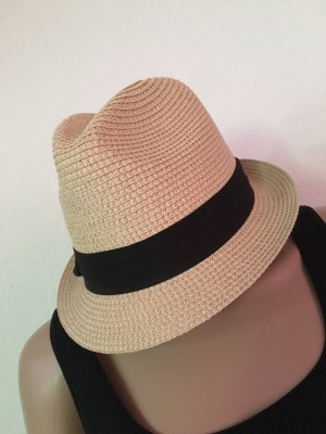 C&A Straw Hat cream-black