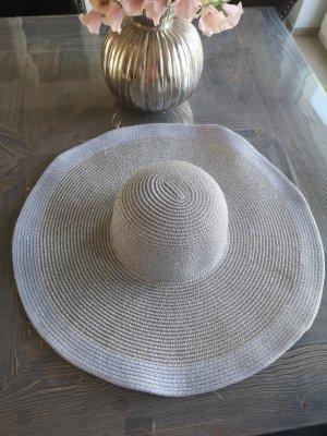 Riani Chapeau de soleil argenté-bleu azur