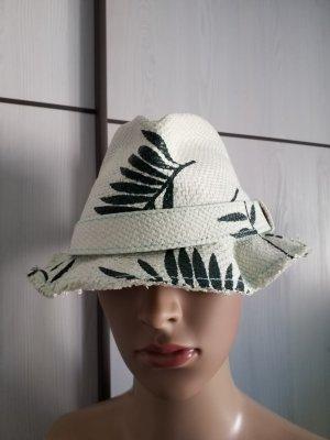Cappello parasole verde scuro-menta