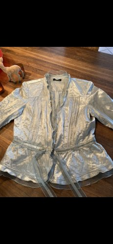 Apanage Blouse Jacket silver-colored