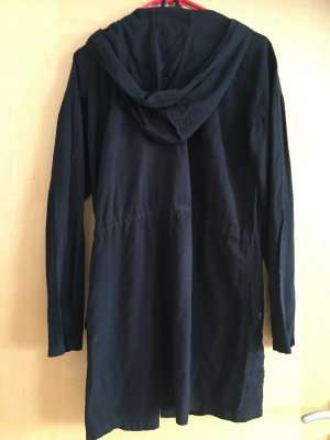 H&M Divided Parka black-silver-colored