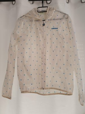 Adidas NEO Raincoat white-blue