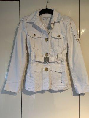 Zara Woman Kurtka przejściowa biały