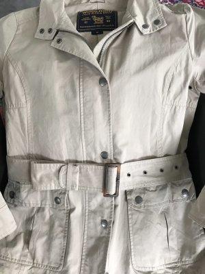 Woolrich Short Jacket cream cotton