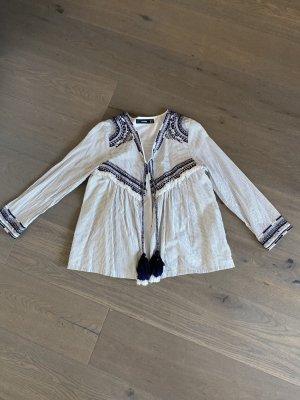 Hallhuber Shirt Jacket multicolored cotton