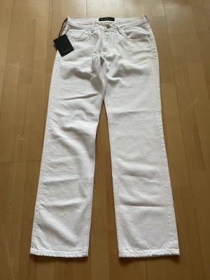Baldessarini Jeansy o kroju boot cut biały