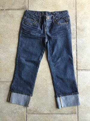 Be only 3/4 Length Jeans steel blue mixture fibre