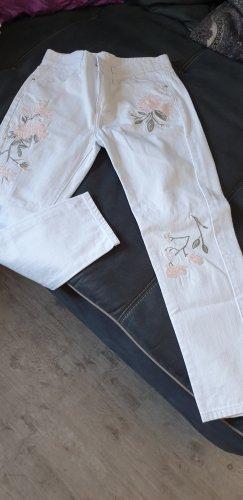 Stretch Jeans white