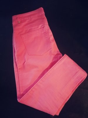 H&M Vaquero pitillo rosa-rosa