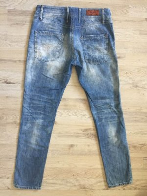 Sommerjeans von Pepe Jeans Used Look/Destroyed Jeans