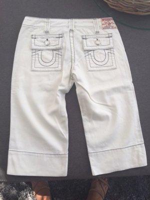 True Religion Krótkie spodnie biały Bawełna