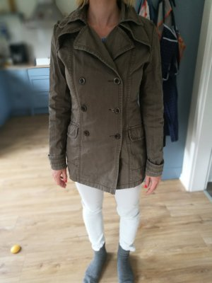 sommerjeansjacke used look