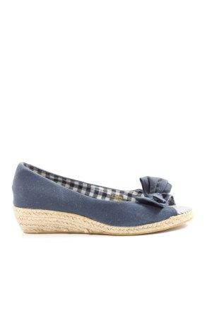 Sommerkind Espadrille Sandals blue casual look