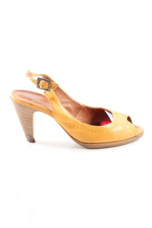 Sommerkind Peeptoe Pumps hellorange Casual-Look