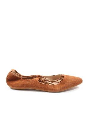 Sommerkind Bailarinas de tira marrón elegante