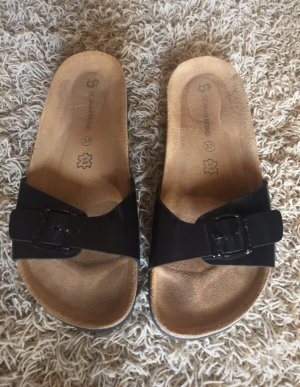 Sommerkind T-Strap Sandals black