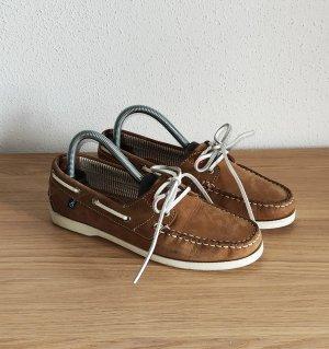 Sommerkind Zapatos de marinero marrón claro-marrón