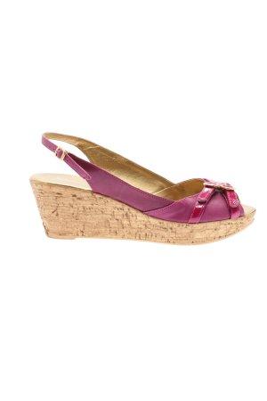 Sommerkind Wedges Sandaletten lila-pink Casual-Look
