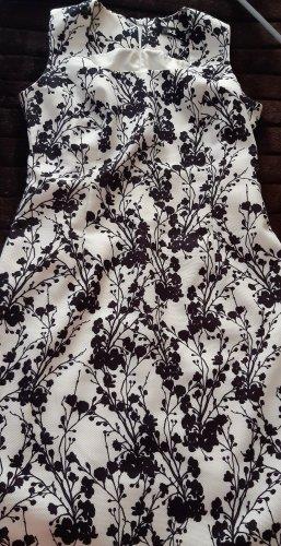 Adler Letnia sukienka biały-czarny
