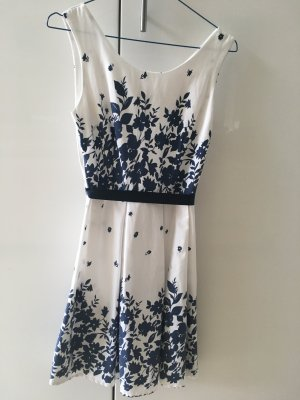 Jerseyjurk wit-blauw