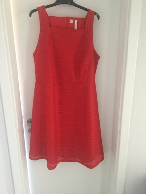BODY FLIRT A Line Dress red