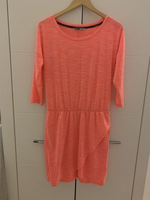 Sukienka midi pomarańczowy