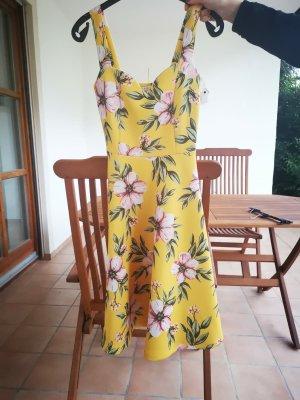 Mint&berry Letnia sukienka żółty-różany