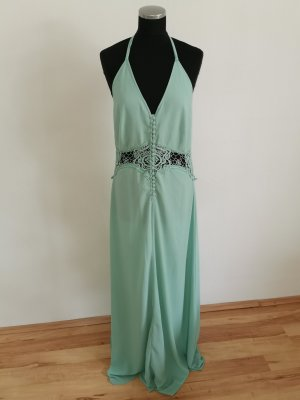 Jarlo Evening Dress turquoise polyester