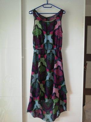 H&M Robe bas asymétrique multicolore