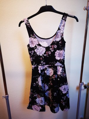 Jersey Dress carmine-black