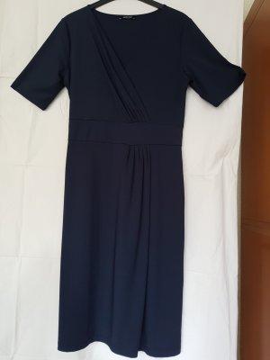 More & More Robe mi-longue bleu foncé