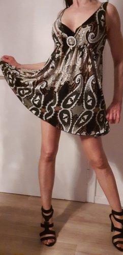 Sommerkleid 34 Paisley Muster