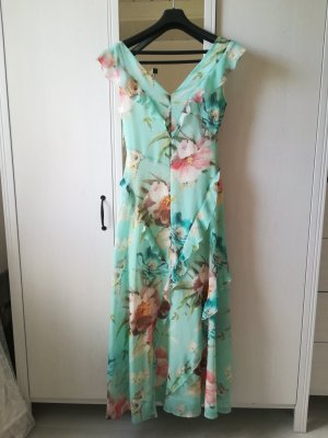 Orsay Robe à volants turquoise