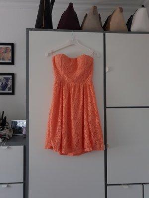 Tally Weijl Off-The-Shoulder Dress apricot