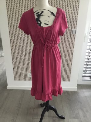 Anna Scott Midi-jurk framboosrood